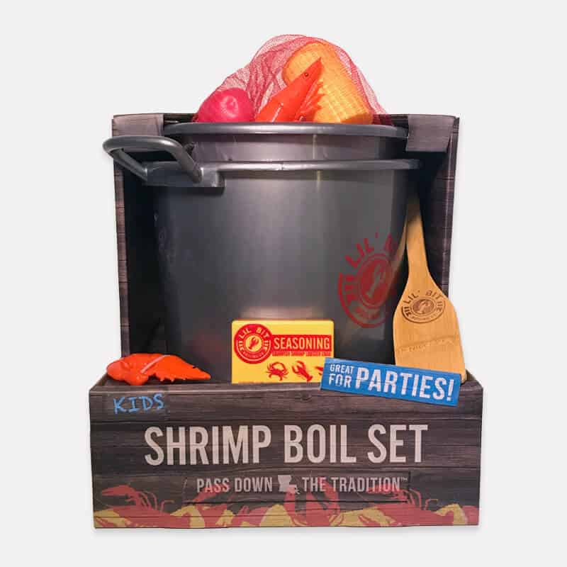 Lil' Bit Boil Set | Shrimp boil toy set