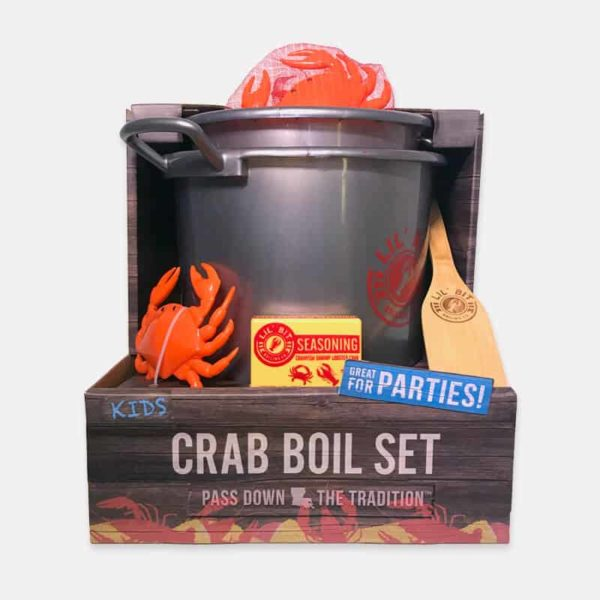 Lil' Bit Boil Set | Crab boil toy set