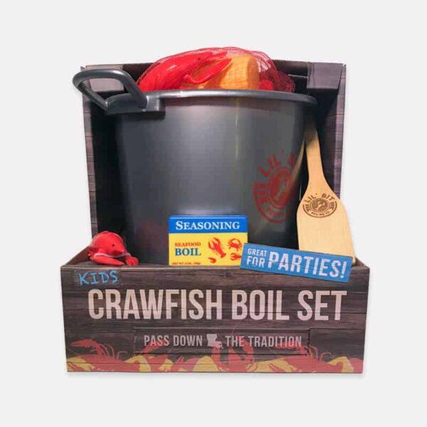 Lil' Bit Boil Set | Crawfish boil toy set