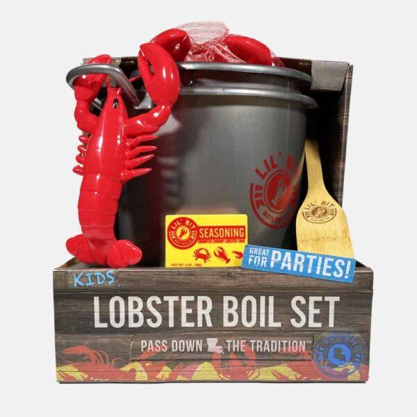 Lil Bit Boil Set | Lobster toy set