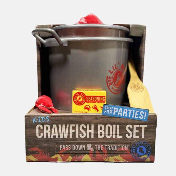 Lil Bit Boil Set | Crawfish toy set